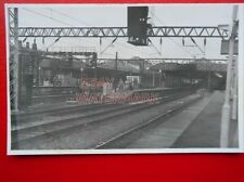 PHOTO  ALTERATION AT CREWE RAILWAY STATION FROM SOUTH 31/1/85