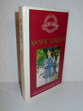 As You Like It by William Shakespeare (Demco-Bound Hardcover) Pre-bound Folger