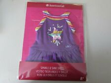 New NIP American Girl Truly Me Sparkle & Shine Dress - Retired