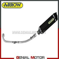 Scarico Completo Arrow Race Tech Alluminio Nero Yamaha Yp 500 T-Max 2008 > 2011