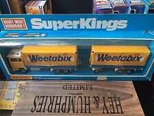 Matchbox Super Kings K-21D-11.Rare Weetabix Version mint OVP excellent from 1978