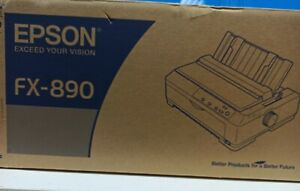 Epson FX-890 Workgroup Dot Matrix Printer