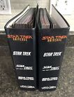 Star Trek Universe 2 Binder Books with Many Pages by Newfield Publications 1997