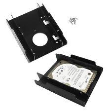 """2.5"""" SSD HDD Supporto to 3.5"""" Hard Drive Adattatore Kit di Montaggio in Plastica"""