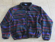Unisex Vintage Aztec Design Penfield Polartec Fleece Full Zip Usa