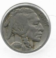 Rare Old Antique 1935 US Buffalo Indian Nickel Collection Great USA Coin LOT:V61