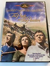 The Pride and the Passion (DVD, 2002) Cary Grant Frank Sinatra Clean