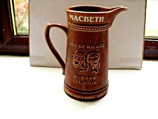 macbeth scotch whisky water jug ltd. edit. No.45/500 made by lord nelson