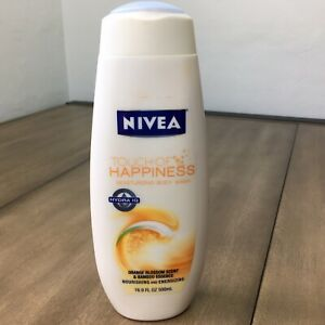 Nivea TOUCH OF HAPPINESS Body Wash Orange Blossom Hibiscus 16.9 Oz