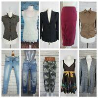 Lot de 30 vêtements femme en très bon état, taille 34 à 46