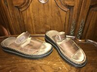 G.H.Bass Marley Brown Leather Men's Sandals Size 10M