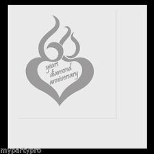 60th ANNIVERSARY MOD LUNCHEON NAPKINS Party Supplies FREE SHIPPING