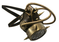 Steampunk Respirator Burning Festival Gas Jaw Mouth Face Mask Costume Accessory