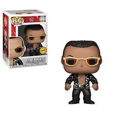 The Rock Chase OldSchool Dwayne Johnson Wrestling POP! WWE #46 Vinyl Figur Funko