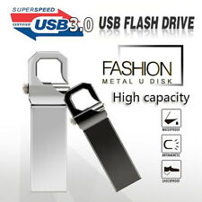 Metal USB Flash Drive Memory Stick Pen drive U Disk for PC Laptop Black