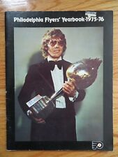 1975-76 PHILADELPHIA FLYERS Yearbook BOBBY CLARKE BERNIE PARENT 75-76 Champions