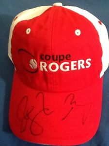 Roger Federer & Andy Murray Autographed Rogers Tennis Cup Official Cap