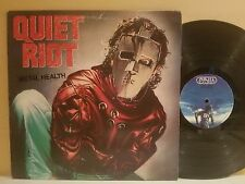 Quiet Riot Mental Health LP 1983 Pasha Records BFZ-38443 1st Press