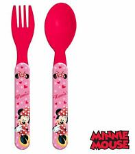Disney Minnie Mouse Cutlery Set Fork and Spoon