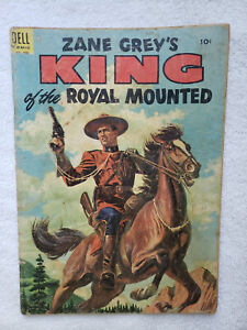 King of the Royal Mounted #18 (Dec-Feb 58, Dell) [GD/VG 3.0]