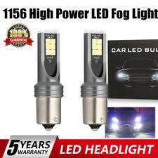 1156 LED Fog Light Bulbs Front Back Up Reverse Lights White High Power Headlight