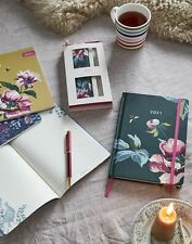 Joules  2021 Diary - Dark Green Florals - One Size
