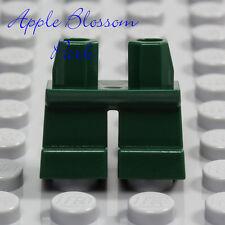 NEW Lego Minifig DARK GREEN SHORT LEGS  - Boy Girl Kid Child Jeans Pants Lower