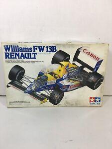 Tamiya Williams FW 13B Renault Formula One 1:20 Box Not In Great Shape