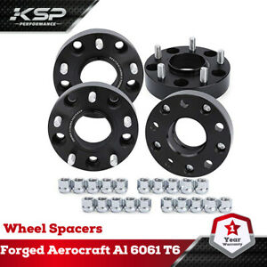 """Complete Set OF 2012-2018 Ram 1500 1.5"""" Black Hub Centric Wheel Spacers Adapters"""