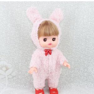Adorable combinaison pyjama barboteuse à capuche rose pour Mellchan Baby
