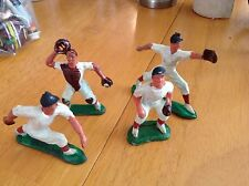 Vintage White Baseball Team Kids Cake Decorations Wedding Cake Old Players