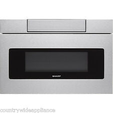 "Sharp Insight Stainless 24"" Microwave Drawer LCD Display SMD2470AS (SMD2470ASY)"