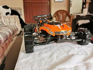 Modified Hobao Racing Hyper SS Truggy 1:8 Brushless Racing Truggy Top Secret 6s