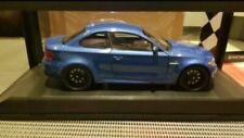 BMW MINICHAMPS 1M E82 COUPE BLUE 1:18