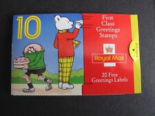 QE II - 1993 Greetings Booklet Childrens Characters KX 5 cat £9. MNH
