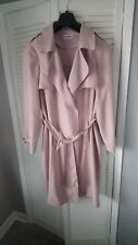 BEAUTIFUL SIZE 18 LADIES PINK LONG COAT, MAC ,SPRING