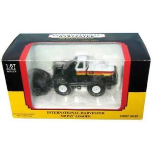 1/87 International Harvester 560 Wheel Loader Sunrise Mining First Gear 80-0315
