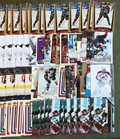 Milan Hejduk 72 Card Lot With Duplicates MANY ROOKIES RCS See Scans NHL Hockey