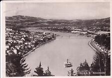 AK Linz Donau gel. 1939 Gesamtansicht Dampfer Schiff Brücke
