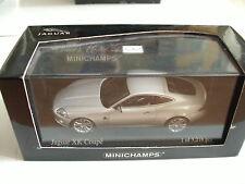 Minichamps Jaguar XK Coupe in Liquid Silver on 1:43 in Box