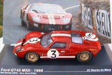 FORD GT40 MKII #3 1966 24 HOURS DU MANS DURNEY GRANT 1/43 IXO ALTAYA RED ROT