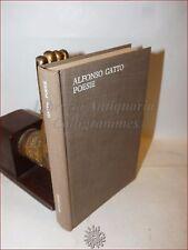POESIA - ALFONSO GATTO: POESIE 1929-1941 Mondadori 1961 1a ediz Versi