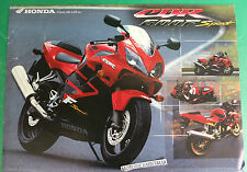 HONDA CBR 600 F SPORT MOTORCYCLE MOTO PUBBLICITA DEPLIANT BROCHURE CATALOG