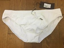 BN GUCCI BLUE SWIMMING SHORTS TRUNKS BRIEFS IN WHITE WITH LOGO & GUCCI BAG XXL
