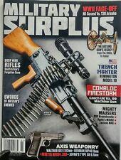 Military Surplus #195 2017 Boer War Rifles Machine Gun Weaponry FREE SHIPPING sb