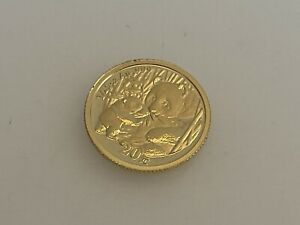 2005 Chinese Panda  Gold Coin 1/20 Oz 20 Yuan