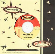 PEARL WOODS - DON'T TELL IT ALL b/w TANI JONES - MEET ME HALFWAY (Soul R'n'B)