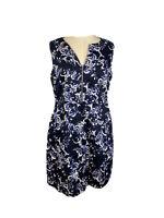 Portmans Womens Size 12 Fit And Flare Midi Dress V - Neck