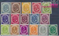 BRD 123-138 postfrisch 1951 Posthorn (8517359
