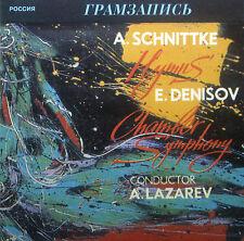 CD SCHNITTKE - hymns / DENISOV - chamber symphony, Lazarev, Gramzapis/Melodiya